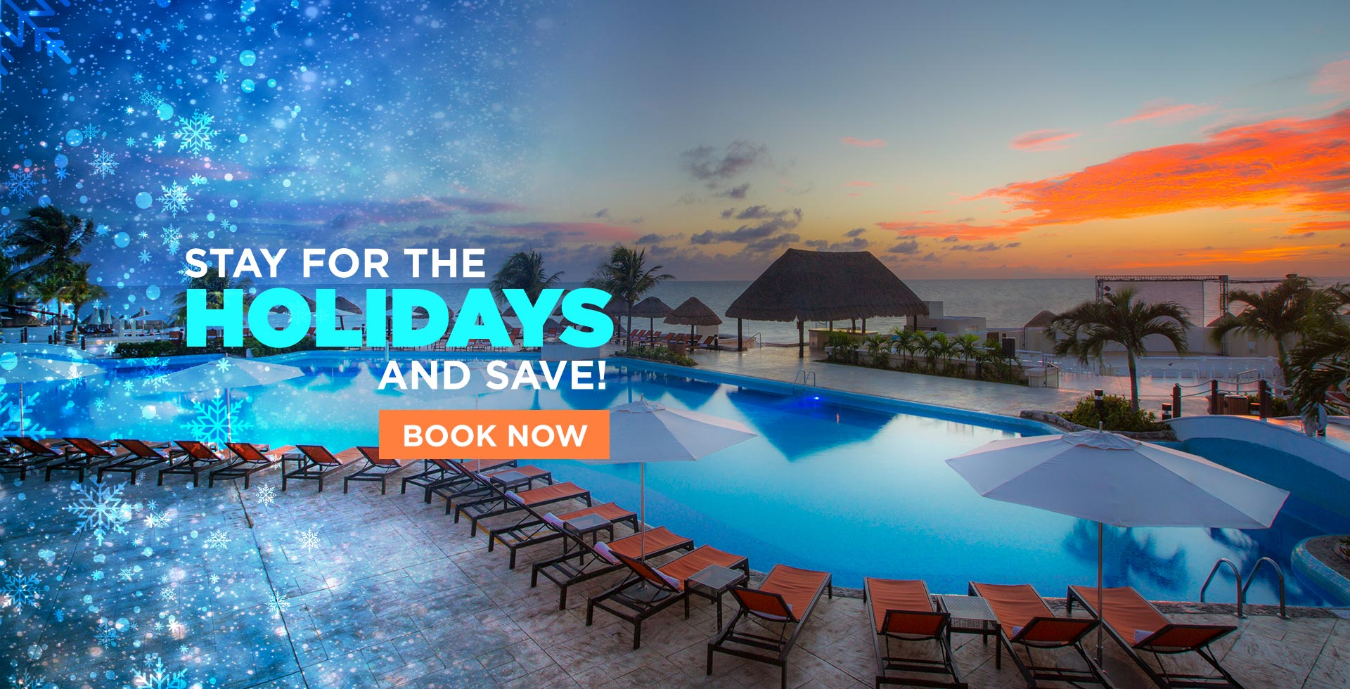 Stay For The Holidays and Save!
